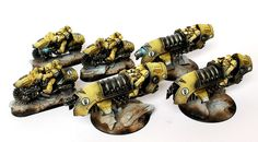 Imperial Fist Outriders Jetbikes