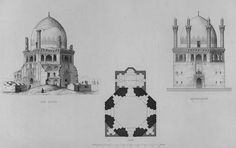 Pascal Coste, Islamic Art, Mosque, Taj Mahal, Temple, Studying, Building, India, Pattern