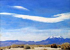 The Cloud, Coachella Valley, California, 1940 - Maynard Dixon, Impressionism