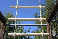 How To Easily Create Your Own Rope Ladder