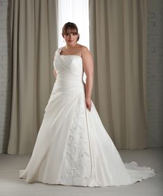 It also comes in the traditional white and other colors so that you can go for the inexpensive plus size wedding dresses with sleeves that truly matches your style at the wedding. Description from gbridal.com. I searched for this on bing.com/images