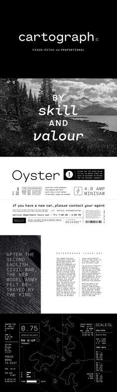Cartograph CF - Desktop Font & WebFont - YouWorkForThem