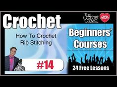Learn how to create ribs with crochet. Ribbing allows for your crochet work to contract or expand. You see this often in hats, socks, belts and more. Learn h...