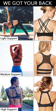 We Got Your Back: Find The Perfect Sports Bra - Fit & Fab