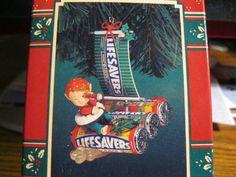 A-Joy Matie, Throw me a Lifesaver Enesco Christmas ornament 1996 Enesco http://www.amazon.com/dp/B0076PHQHC/ref=cm_sw_r_pi_dp_z9ZFvb1WY837B