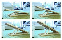 Pugs Central and Travelling Pooch have teamed up to create a unique dog ramp for your pug. Our portable dog ramp with adjustable heights is the perfect ramp to help aide and prevent injuries to your pooch. #dogramp