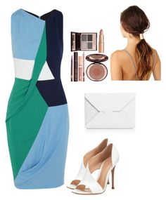 """Sin título #138"" by pricsila-marquina-gonzalez on Polyvore featuring moda, Peter Pilotto, Gianvito Rossi, J.W. Anderson y Charlotte Tilbury"