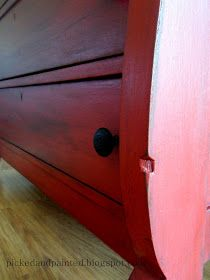 Hi, my name is Helen, and I am addicted to empire dressers! This is the third empire dresser that I& purchased and probably not my last. Glazing Furniture, Paint Furniture, Furniture Making, Furniture Refinishing, Furniture Projects, Funky Painted Furniture, Repurposed Furniture, Empire Furniture, Annie Sloan Paints