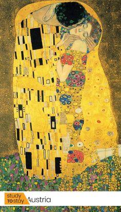 The Best Paintings of The Great Gustav Klimt Canvas Wall Art, Wall Art Prints, Fine Art Prints, Famous Art Paintings, Gustav Klimt, Art Activities, Art Sketchbook, Art Oil, Art Education