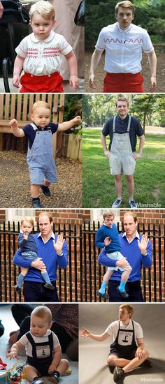 This is what it's like to dress as Prince George for a week