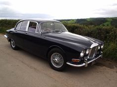 Can't wait to get it on the road. Jaguar Daimler, Love Car, Cars Motorcycles, Vintage Cars, Planes, Trains, Red Leather, Transportation, Classic Cars