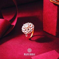 Diamond Earrings, Diamond Jewelry, Manubhai Jewellers, Engagement Rings, Jewelry Collection, Jewels, Fashion, Diamond Studs, Enagement Rings