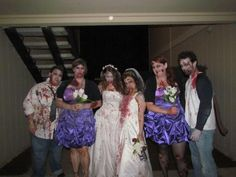 our zombie wedding party ;)