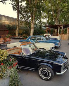 Classic Mercedes-Benz Cars #Oldtimer #Classic #ClassicCars #Mercedes #Mercedes-Benz #Ponton #Pagode #Convertible #Limousine