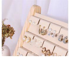 Organizador de joyas exhibición de joyas soporte de perno de | Etsy Advent Calendar, Holiday Decor, Etsy, Home Decor, Wood Display, Jewellery Display, Product Display, Fun Crafts, Organizers