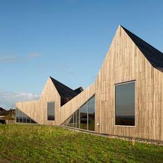 Sand dune-inspired kindergarten completed<br /> by Dorte Mandrup beside a Swedish beach