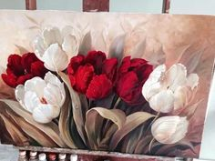 ‿✿⁀°∂σρєv¢ℓαи°‿✿⁀ fσℓℓσω Elaaf on Pinterest Tulip Painting, China Painting, Fabric Painting, Art Paintings For Sale, Beautiful Paintings, Acrylic Wall Art, Photo Wall Collage, Arte Floral, Watercolor Flowers