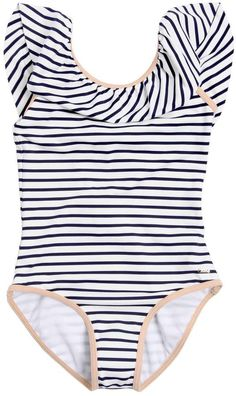 e05c49483bc24 Striped Lycra One Piece Swimsuit Chloe Kids, Striped One Piece, Striped  Swimsuit, One