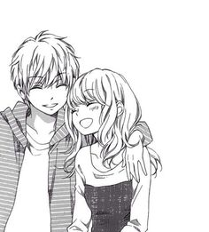 Anime Boy And Girl Friendship Drawing Google Search Anime Style