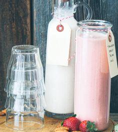 Strawberry Vanilla Pecan Milk Recipe - Clean Eating Magazine