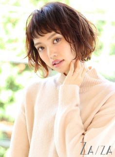大人の愛されショートバングボブ 【ZA/ZA aoyama】 http://beautynavi.woman.excite.co.jp/salon/26005?pint ≪ #bobhair #bobstyle #bobhairstyle #hairstyle・ボブ・ヘアスタイル・髪型・髪形 ≫