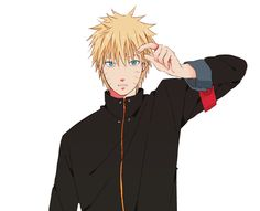 *not kyncaption but i agree* Can we take a moment and appreciate HIS HAIR?! Look how awesome and sexy our Naruto is in this fanart! Damn it, Kishi! xD #naruto #antiTheLast