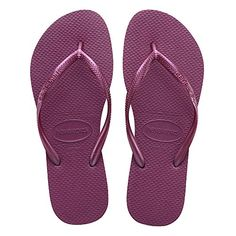 83310b4012bd7e Original Havaianas Flip Flops New Slim Beach Sandals Women NIB All Sizes  Colors