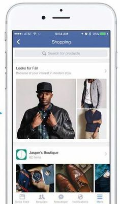 The screenshot above also shows a search bar In addition to offering a more purposeful way to browse the feed, the search bar could potentially also give Facebook new opportunities for keyword-based advertising. As Google has demonstrated, knowing that a user is searching for a specific type of product makes for a pretty enticing proposition for advertisers.