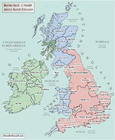 Old map black sea ancients history pinterest ancient history british isles 4 anglo saxon 700 anglo saxon invaders tended to intermarry with rather than replace the existing population gumiabroncs Gallery