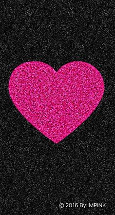 Pink And Black C 2016 Cute Sparkle Heart Wallpaper