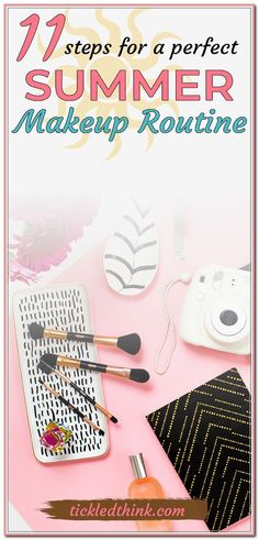 Read on to see the perfect makeup routine this summer. This makeup routine is the best, simple, fast and easy - perfect for everyday summer look! Everyday Beauty Routine, Skin Care Routine For 20s, Beauty Routines, Skin Routine, Skincare Routine, Summer Beauty, Summer Makeup, Oily Skin Care, Skin Care Regimen