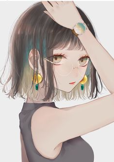 girl Anime pictures and wallpapers search Cool Anime Girl, Pretty Anime Girl, Beautiful Anime Girl, Kawaii Anime Girl, Anime Art Girl, Anime Girls, Anime Neko, Manga Anime, Anime Drawing Styles