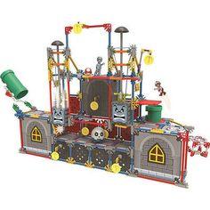 K'NEX Super Mario Thwomps Building Set   eBay