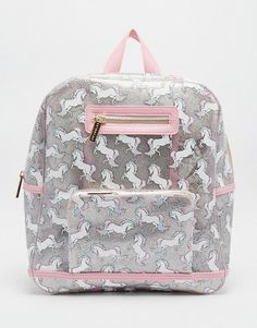 Shop Women's Skinnydip London Silver Pink size OS Backpacks at a discounted price at Poshmark. Description: •🦄 Unicorn Backpack Rucksack Bag, Backpack Bags, Fashion Bags, Fashion Backpack, Real Unicorn, Unicorns And Mermaids, Mein Style, Cute Backpacks, Cute Bags