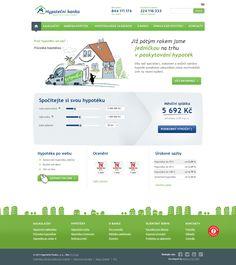 New website for Hypoteční banka is finally out! Web Design, Map, Website, Inspiration, Biblical Inspiration, Design Web, Location Map, Maps, Website Designs