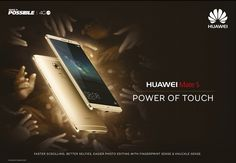 Huawei advertising campaign