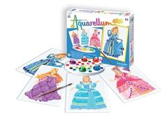 SentoSphere Kreativset Malset Aquarellum Junior Prinzessinnen für Kinder ab 7 Jahren Palette, Junior, Gifts For Kids, Coasters, Princess, Games, Products, Vellum Paper, Brush Strokes