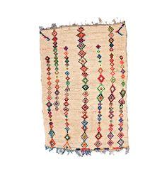Moroccan Tribal Rug Mid Century Modern Art by bringyourownsunshine, $1650.00