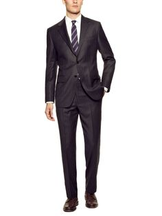 Stripe Suit by Hickey Freeman at Gilt