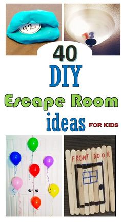 Escape Room Diy, Escape Room For Kids, Escape Room Puzzles, Kids Room, Fun Learning, Learning Activities, Activities For Kids, Crafts For Kids, Games For Kids