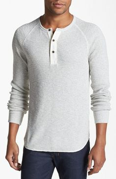 Lucky Brand Dungarees Thermal Henley available at #Nordstrom