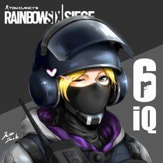 rainbow six siege iq by jazzjack-KHT on DeviantArt Rainbow Six Siege Dokkaebi, Rainbow 6 Seige, Tom Clancy's Rainbow Six, Rainbow Art, Akame Ga Kill, Raimbow Six, Overwatch, R6 Wallpaper, Tokyo Ghoul
