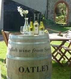 Tasting area at Oatley Vineyard, Somerset, UK  #vineyardsomerset