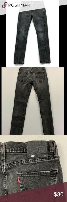 64b9f799026 Levi's 511 Men's Black Slim Fit Jeans Size 31x32 Levi's jeans Size - 31x32  Color -