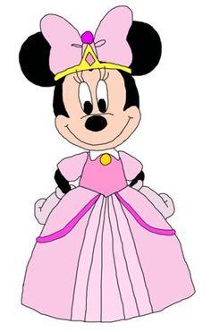 Mickey Mouse Clubhouse Fan Art: Princess Minnie - Minnie-rella
