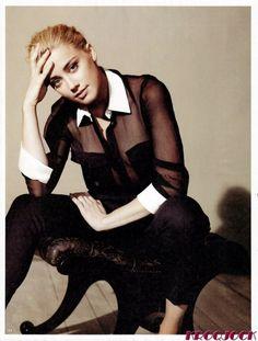 Amber Heard LA Times Magazine  October 2011
