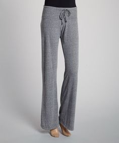 This Light Gray Drawstring Lounge Pants by TROO is perfect! #zulilyfinds