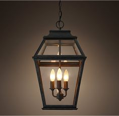 Ideas for lantern pendant lighting entryway front porches Porch Pendant Light, Outdoor Pendant Lighting, Outdoor Light Fixtures, Porch Lighting, Exterior Lighting, Outdoor Chandelier, Kitchen Lighting, Cottage Lighting, Hall Lighting