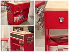 meubles vintage > chaises & fauteuils > chaise de cuisine et ... - Meuble De Cuisine Vintage
