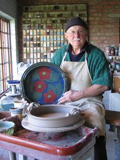 Handles can be an attractive and practical embellishment for pottery and there are many many ways to make them: pulled, coiled, press molded, etc. But as with any other element in a pot, handles should be an important part of the design of the piece. Potter Mike Guassardo decided to throw handles for his large... Read More »